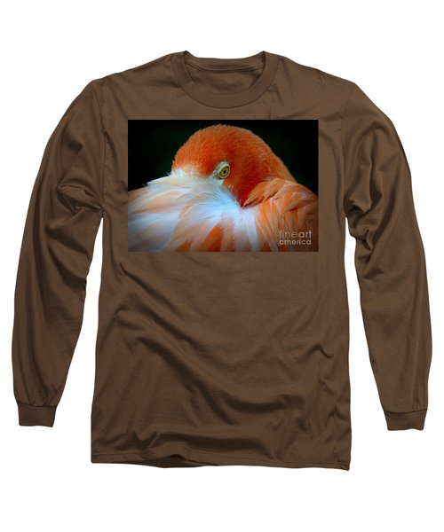 Long Sleeve T-Shirt featuring the photograph Peek-a-boo by Lisa L Silva