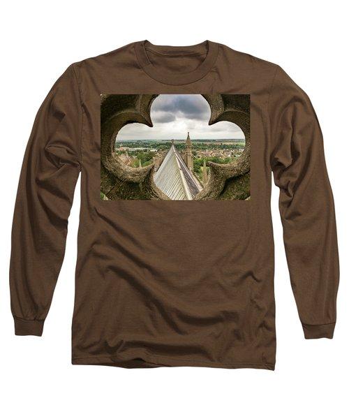 Peeking At Ely Long Sleeve T-Shirt