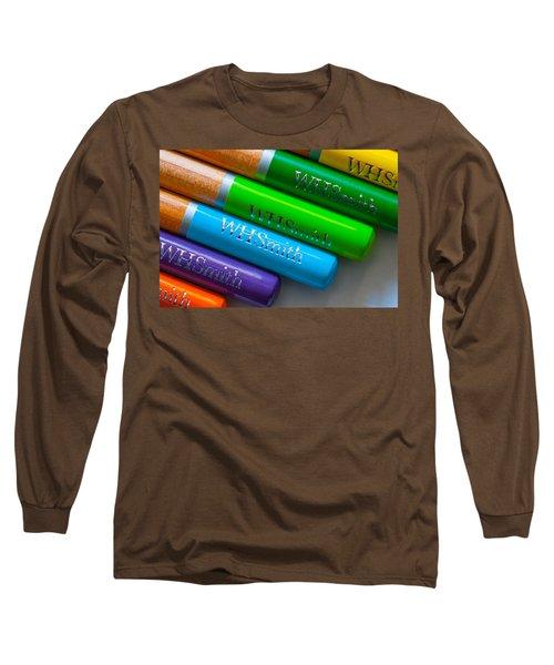Pencils 5 Long Sleeve T-Shirt