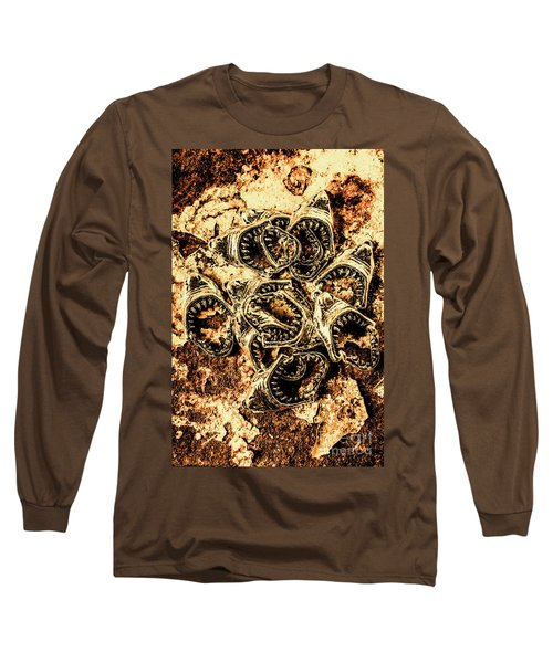 Pendants From A Shark Attack Long Sleeve T-Shirt