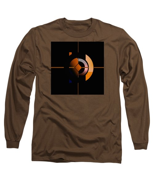 Long Sleeve T-Shirt featuring the painting Penman Original - 216 by Andrew Penman
