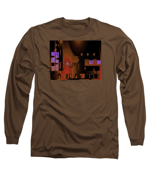 Long Sleeve T-Shirt featuring the painting Penman Original-252 by Andrew Penman