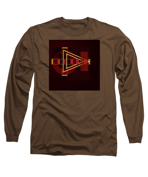 Long Sleeve T-Shirt featuring the painting Penman Original-253 by Andrew Penman