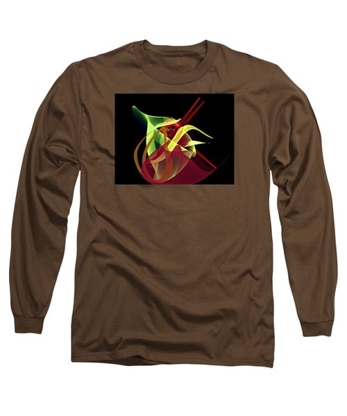 Penman Original-266- Chikakos Dinner Long Sleeve T-Shirt by Andrew Penman
