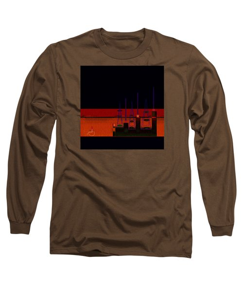 Penman Original-271-getting Past The Obstacles Long Sleeve T-Shirt by Andrew Penman