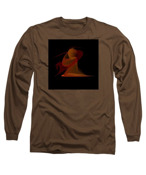 Penman Original-292-the Unknown Warrior. Long Sleeve T-Shirt by Andrew Penman