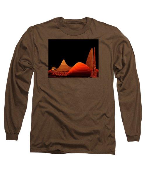 Long Sleeve T-Shirt featuring the digital art Penman Original-294-refuge by Andrew Penman