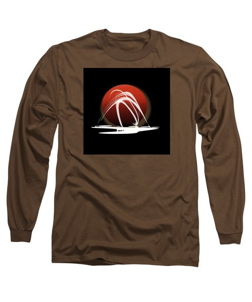 Long Sleeve T-Shirt featuring the painting Penman Original-303 by Andrew Penman