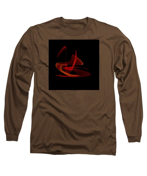 Long Sleeve T-Shirt featuring the painting Penman Original-316 Saturday Night Fever by Andrew Penman