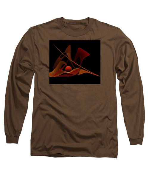 Long Sleeve T-Shirt featuring the painting Penman Original-317-natural Light-natural Growth by Andrew Penman