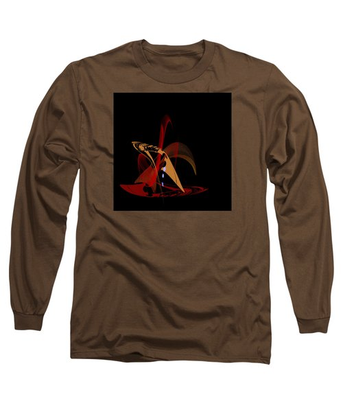 Long Sleeve T-Shirt featuring the painting Penman Original-328 by Andrew Penman