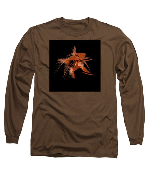 Long Sleeve T-Shirt featuring the painting Penman Original-330-by Origin-we Are All Ethnic by Andrew Penman