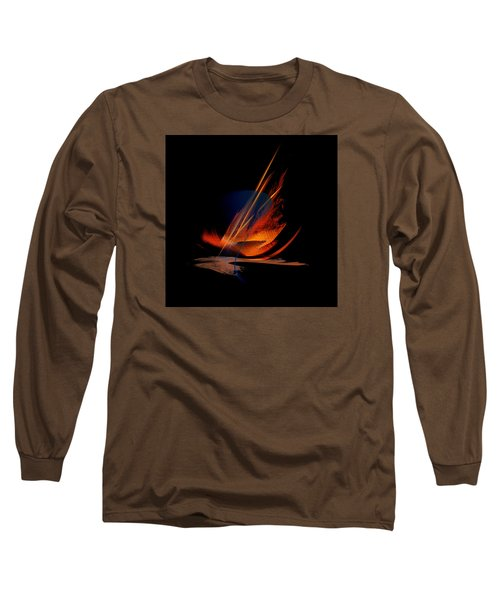 Long Sleeve T-Shirt featuring the painting Penman Original-335 by Andrew Penman