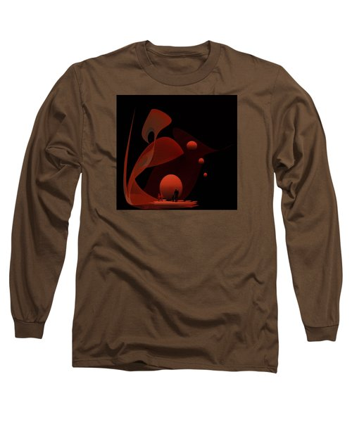Penman Original-451 Out Of The Rat Race Into A Space Of Wellbeing Long Sleeve T-Shirt by Andrew Penman