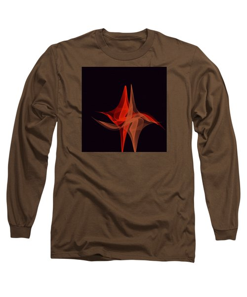 Long Sleeve T-Shirt featuring the painting Penmanoriginal- 277 by Andrew Penman