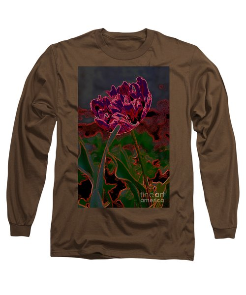 Peony Tulip Long Sleeve T-Shirt