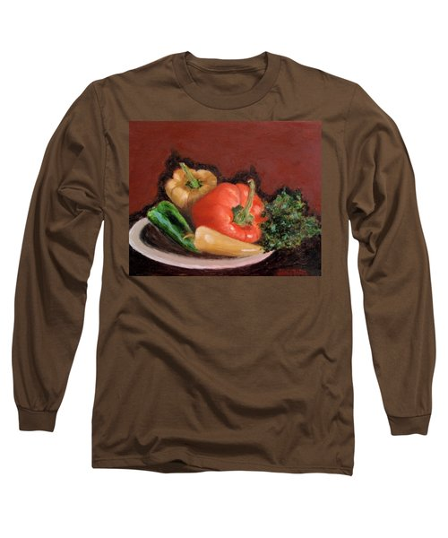 Peppers And Parsley Long Sleeve T-Shirt