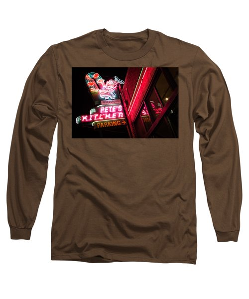 Pete's On Colfax Long Sleeve T-Shirt