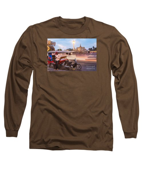 Phnom Penh Tuk Tuk Long Sleeve T-Shirt