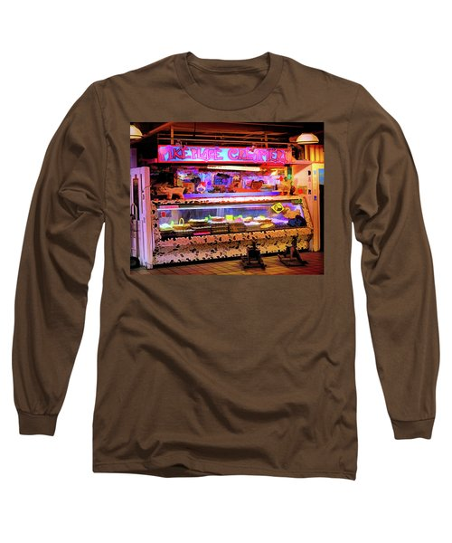 Pike Market Creamery, Seattle Long Sleeve T-Shirt