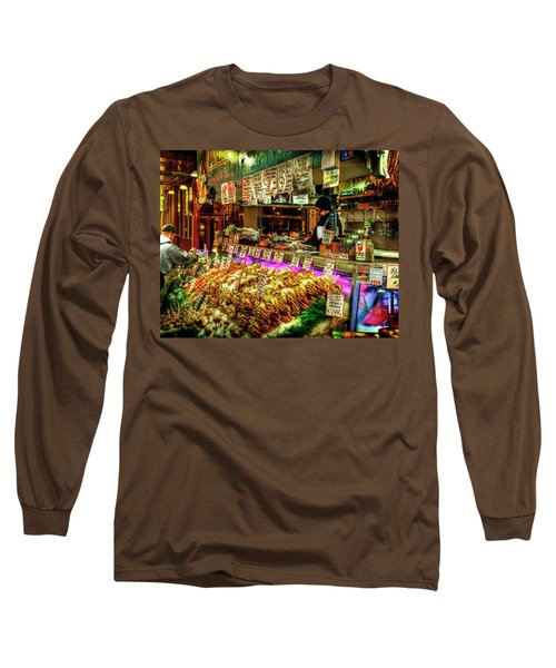 Pike Market Fresh Fish Long Sleeve T-Shirt