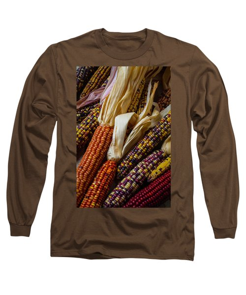 Pile Of Indian Corn Long Sleeve T-Shirt