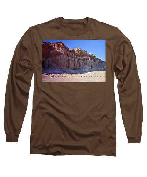 Pillars, Red Rock Canyon State Park Long Sleeve T-Shirt