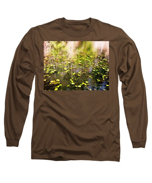 Long Sleeve T-Shirt featuring the photograph Pink And Green by Melissa Stoudt