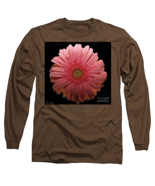 Pink Gerbera Daisy  Long Sleeve T-Shirt