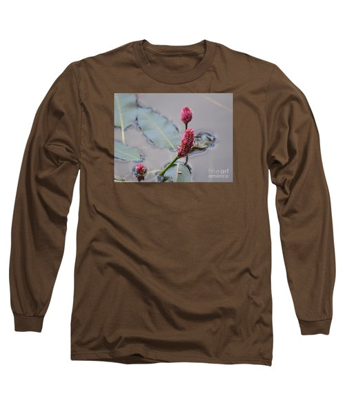 Pink Lily Pad Long Sleeve T-Shirt
