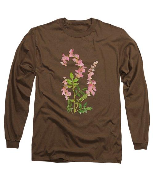 Pink Tiny Flowers Long Sleeve T-Shirt