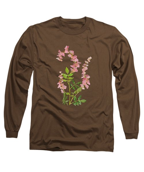 Pink Tiny Flowers Long Sleeve T-Shirt