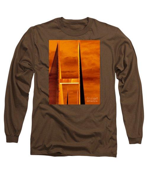 Pinnacle Long Sleeve T-Shirt by Cathy Dee Janes