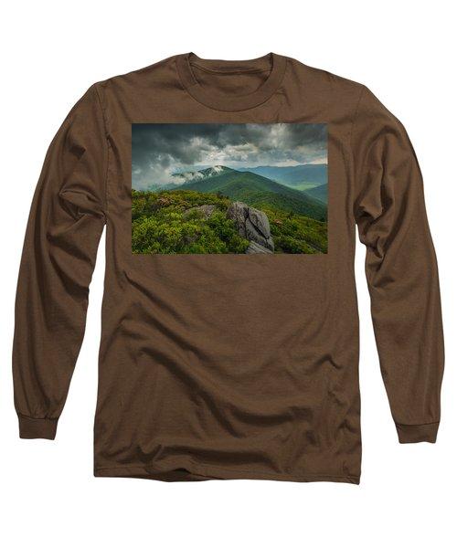 Long Sleeve T-Shirt featuring the photograph Pinnacle by Joye Ardyn Durham