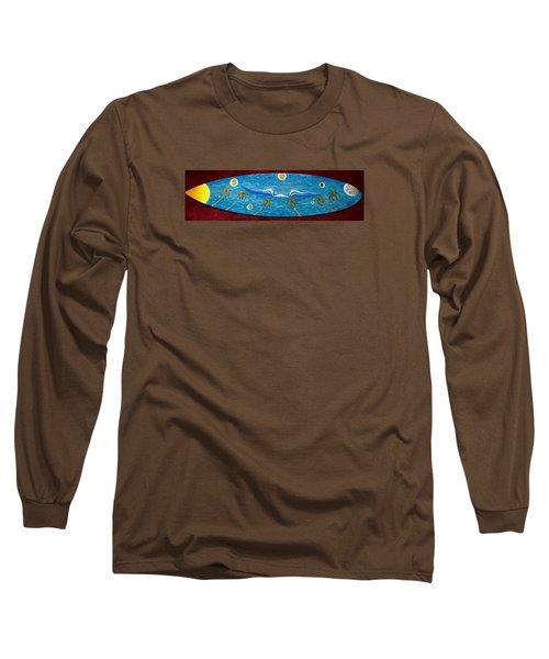 Planet Surf  Long Sleeve T-Shirt
