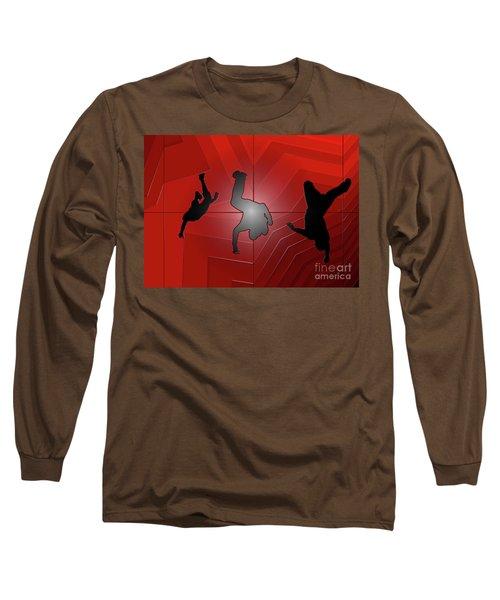 Plastic Wrap Long Sleeve T-Shirt