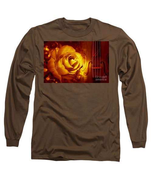 Play A Love Song Long Sleeve T-Shirt by Annie Zeno