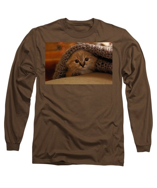 Playing Peek-a-boo Long Sleeve T-Shirt