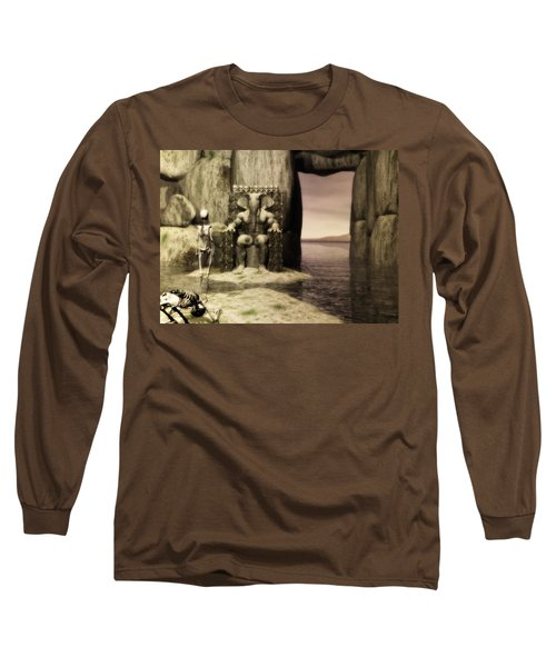 Plea Of The Penitent To The Lord Of Perdition Long Sleeve T-Shirt