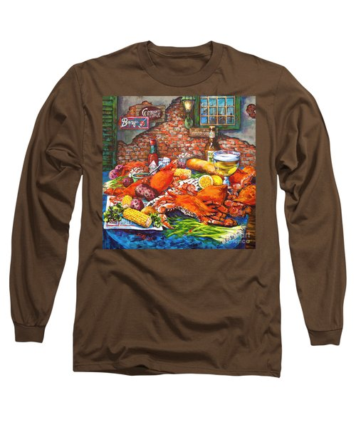 Pontchartrain Crabs Long Sleeve T-Shirt