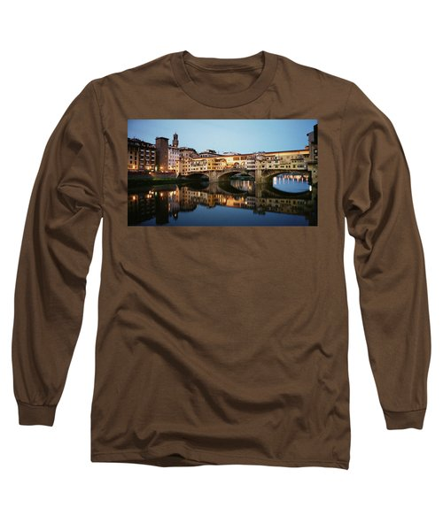 Ponte Vecchio Long Sleeve T-Shirt