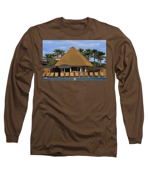 Poolside Drinks Long Sleeve T-Shirt
