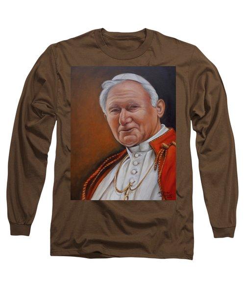 Pope John Paul Long Sleeve T-Shirt