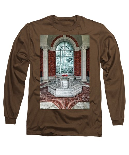 Poppies At Dunkirk Long Sleeve T-Shirt