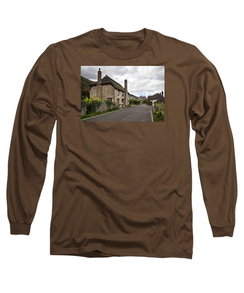 Porlock Weir Long Sleeve T-Shirt by Shirley Mitchell