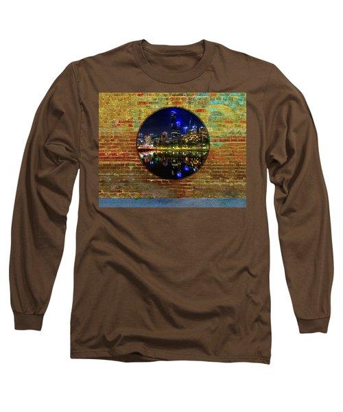 Portal Long Sleeve T-Shirt by Mark Blauhoefer