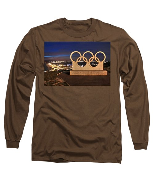 Portland Olympic Rings Long Sleeve T-Shirt