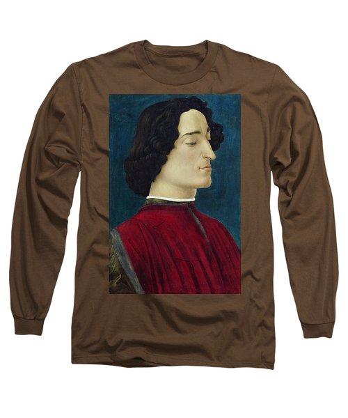 Portrait Of Giuliano De' Medici Long Sleeve T-Shirt