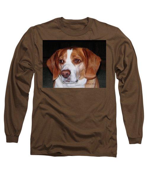 Portrait Of Rusty Long Sleeve T-Shirt