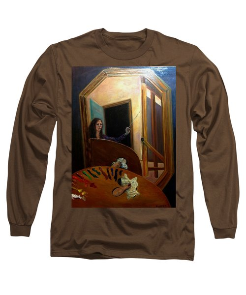 Portrait Of The Artist Long Sleeve T-Shirt